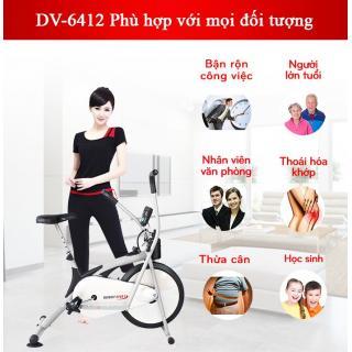 Xe đạp tập thể dục có thích hợp cho người già